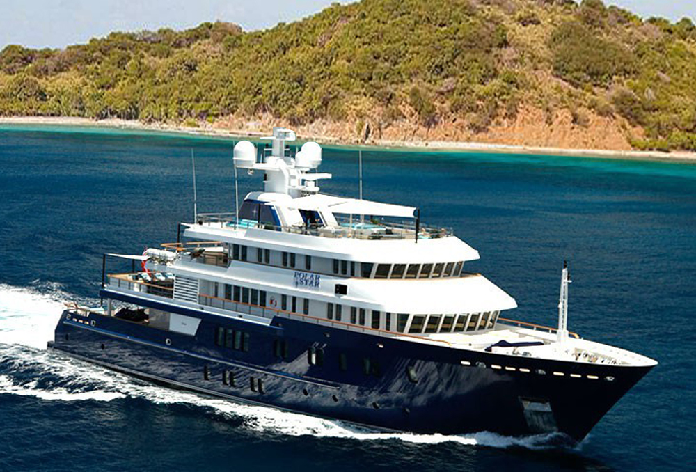 master yachts; polar star