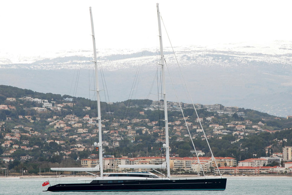 The spectacular 85m S/Y AQUIJO delivered by Vitters and Oceanco