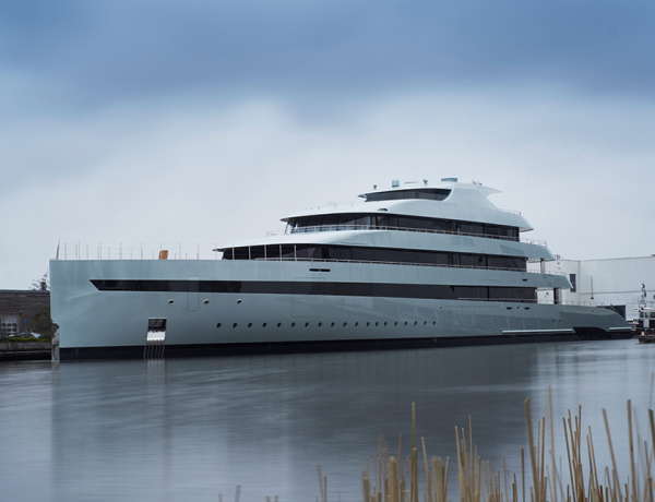 Savannah, the world's first hybrid superyacht, is born